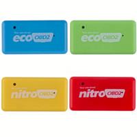 herramientas de ajuste de chip al por mayor-NitroOBD2 CTE038-01 Gasolina Benzine Cars Chip Tuning Box Más potencia Par Nitro OBD Enchufe y unidad Herramienta Nitro OBD2 Alta calidad