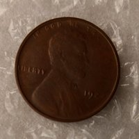 Wholesale Europe Retail - Lincoln Cents 1922 One Cents Coins Retail Archaize Old Looking US Coins Copper Crafts Coins\Whole Sale Free Shipping