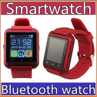 Wholesale Cheap Android Smart Watches - 20X Factory wholesale cheap U8 smartwatch U8 Bluetooth Smart Watch Phone Mate For Android IOS Iphone Samsung LG Sony With call reminder A-BS