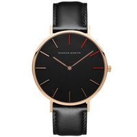 Wholesale mens glasses trends - Mens Designer Watches Waterproof Women Quartz Luxury Watch High-Quality Fashion Trend Micro Business Wristwatch Couple Casual Leather Reloj