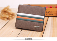 Wholesale New Mens Photos - New mens short Horizontal version leather wallet Casual Style Photo Holder Card Holder Interior Slot Pocket Y3W8H2LY2