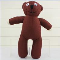 Wholesale Teddy Bear Best Gift - Cute Mr Bean TEDDY BEAR Stuffed Plush teddy bear toy Fashion plush doll Best Gift For Children 35cm King EMS