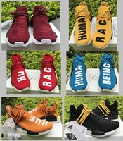 Wholesale Lemon Fabric - nmd Casual Shoes Black+red+wine red+orange-lemon yellow-blue-green