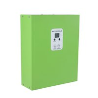 Wholesale Solar Panels 48v - MPPT Solar Remote Controller Charger 15A 12V 24V 48V 100VDC Max. Solar Panel Input for Sale