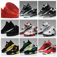 Compra Acquistare Scarpe Da Uomo-Acquista ora Cina Shoes 4 Basketball Retro Sportive Sneakers Donne Uomo Uomo Uomo Zapatillas Repliche Reali Originali Autentiche