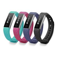 Wholesale Facebook Iphone - Bluetooth Sports Smart Band Heart Rate Monitor Metal Body Smart Bracelet Health Fitness Tracker Facebook Remind for iPhone 7 Samsung HTC LG