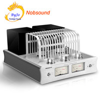 Wholesale electronics amplifiers for sale - Group buy Nobsound DX HiFi Power Amplifier electronic tube Amplifier Bluetooth Amplifier HiFi Hybrid Single Ended Class A Power Amp