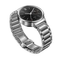 Wholesale Wrist Watch Original Straps - 18MM For Huawei Watch Band Original Design Stainless Steel Butterfly Buckle Clasp Wrist Link Bracelet Watchband Strap With Spring Bar