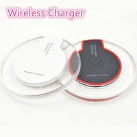 Wholesale Luxury Qi Wireless Charger Charging For Samsung S7 Edge s6 edge Fantasy High Efficiency pad for iphone with retail package