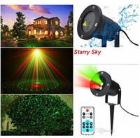 Wholesale Xmas Laser Lights - SUNY Outdoor Holiday Xmas Patterns GR Laser Project Landscape Light Garden Home 2016 NEW CE ROHS FCC CSA UL