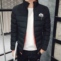 Wholesale Wholesale Men S Down Coats - Wholesale- TG6129 Cheap wholesale 2016 new Cultivate students with thick cotton-padded jacket tide men short winter jacket coat