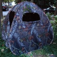 Wholesale Photo Field - Wholesale- 2017 top quality pop up camouflage wathing bird hunting photograghy photo taking dressing moving toilet outdoor camping tent