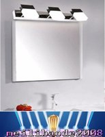 Wholesale Vanity Mirrors For Bathroom - 2016 modern led mirror light bedroom vanity wall lamp 10w stainless steel lights for home lighting fixtures bathroom wall lamps MYY