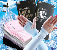 Wholesale Women Long Opera Gloves - 5 Pieces Start Sale Summer Sunscreen Sleeves Rider Drive Ran Half Mittens Outdoor Activities Long Arm Anti UV