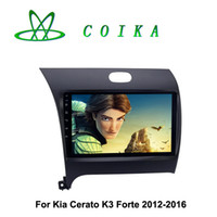 Wholesale Dvd Car For Kia Forte - 9 HD 1024*600 Touch Screen Android 5.1 Car DVD Multimedia For Kia Cerato K3 Forte 2012-2016 Radio RDS GPS Navi WIFI 3G OBD DVR Mirror Link