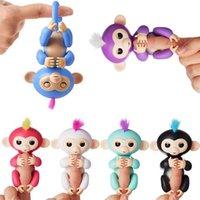 Wholesale R Bike - Fingerlings Smart Toys 6 colors Pre-sale Interactive Baby Monkey r Toys Electronic Smart Touch Finger Monkey