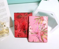 Wholesale Passport Cover Pink - Hot sell fashion new brand printing vs PU leather passport holder passport cover passport card package multifunction female bag factory