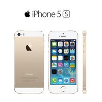 Wholesale Original Apple 5s - Original Unlocked Apple iPhone 5S without fingerprint refurbished iphone 5s phone 16GB   32GB   64GB ios with