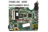 Wholesale Dv7 Motherboard Intel - Classy Motherboard For HP DV7-3000 Laptop with AMD CPU PN 574681-001 DAUT1AMB6E1 REV:E DDR2 100% Work & 100% Fully Tested