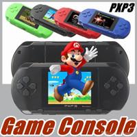 Wholesale Pocket Game Player - 10X selling16 Bit Video Game Player PXP3 PXP Slim Station Pocket Game + Game Card + Retail Box A-YXJ