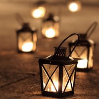 Wholesale Metal Wedding Candle Lanterns - Black White Metal Candle Holders Iron Lantern Hanging Candlestick Wedding Candelabra Centerpieces Decoration Free Shipping ZA4683