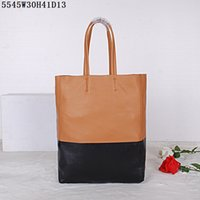 Wholesale Free Cell Bag Crochet - Competitive prices Women leather Totes Medium shopping bags Top good leather two-tone Soft leather shopping casual bags free shipping