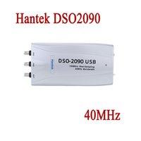 Wholesale Hantek Handheld Oscilloscope - Wholesale-Hantek DSO2090 Digital Oscilloscope USB Handheld Portable 40MHz 2 Channels PC Based Storage Osciloscopio Automotive Car-detector