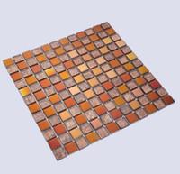 telha de material venda por atacado-Fundo mosaico de azulejos de cerâmica interior especial KTV Hotel shopping senior clube fundo decoração da parede material de cerâmica telha
