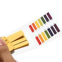 ph-streifen lackmus-papier-test großhandel-80 Streifen PH-Teststreifen-Aquarium-Teich-Wasser-Test PH Lackmus-Papier-voller Bereichssäure-1-14 Testpapier-Lackmus-Test