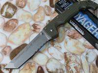 ingrosso coltello xhp-Cold Steel 29UXTGH VOYAGER XL CTS XHP Coltello chiudibile tattico Survivalblog Tanto Campeggio Caccia Survival Pocket lavato in pietra Collezione EDC