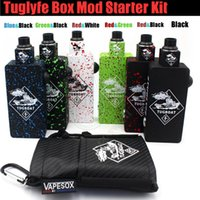Wholesale Wholesale Aluminum Boats - Top quality Tug boat Box Mod Start Kit Tuglyfe Unregulated Tugboat Aluminum Body RDA Atomizer vapor Mods vape pen e cig cigarettes kits DHL
