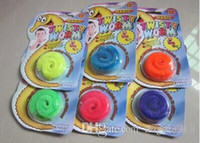 Wholesale Twisty Worm Toy - EMS Free shipping Funny toy Magic worm Twisty worm Wurli worm Magic wiggles 6 colors E950