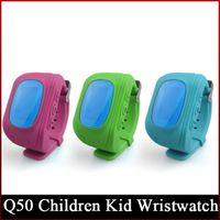 Wholesale smart watch w5 for sale – best Smart Phone Watch Children Kid Wristwatch q50 W5 GSM GPRS GPS Locator Tracker Anti Lost Smartwatch Child Guard for iOS Android