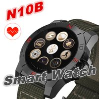Wholesale Wrist Wach - N10B Smart Watch Outdoor Sport Smartwatch with Heart Rate Monitor and Compass Waterproof Bluetooth Wach for IOS Android