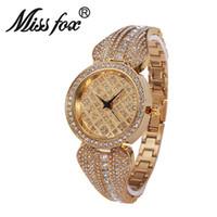Wholesale Modern Designs Jewelry - 2016 New Miss fox Original Design Ideas Female Moden High-grade Quartz Waterproof Watch With Diamond Shining