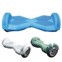 части электрические оптовых-8-дюймовый Hoverboard Electric Scooter Защитный силиконовый чехол Self Smart Balance Scooter Car 2 Wheels 4 Colors Силиконовая кожаная крышка