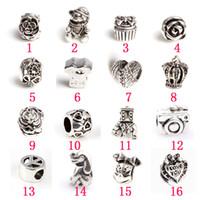pandora venda por atacado-Variedade Beads fit estilo europeu DIY jóias Pandora Style
