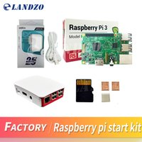 Wholesale Raspberry Pi Heat Sink - A Raspberry Pi 3 Model B starter kit-pi 3 board   pi 3 case  American standard power supply 16 G memory card  heat sink