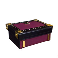 Wholesale Vintage Berlin - Famous Brand Vintage Rivets Mini Magic Box Bag 19 cm Berlin Style Small Travel Crossbody Designer Women Bags Sac A Main Femme M05