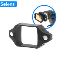 Wholesale Globe Sphere - Wholesale- Selens Rubber Grip for Magnetic Speedlite Accessories Color Filters Honeycome Grid Light Globe Sphere Diffuser Bounce Snoot