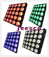 blinder bühnenlicht großhandel-25 stücke 10 watt RGBW CREE 4in1 LED matrix Blinder Licht für Bühne Disco Dj Nachtclub 7/40/100 / 110CH
