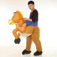 Wholesale Inflatable Doll New - New costume Walking doll animal cartoon costumes clothing Adult pony inflatable costume walking animals performance Cosplay clothing