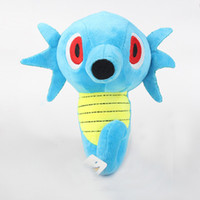 Wholesale stuffed animals for babies - Hot quot Horsea Plush Animals Toys Cartoon Stuffed Dolls Kids For Baby Best Gift