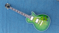 Wholesale Guitar Left Hand Cheap - Good Cheap Price China Custom Electric Guitar White Block Pearl Inlay Solid Mahogany Body & Left Handed Available