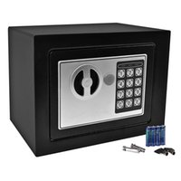 Kanonen Safe Kaufen -Durable Digital Elektronische Safe Box Keypad Lock Home Office Hotel Gun Black