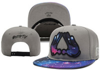 Wholesale Red Stay - Cayler & Sons snapback Galaxy Star stay fly hand ,men & women's skateboard cheap adjustable basketball hats , hiphop bboy flat bill caps