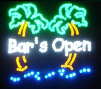 2016 custom sign Haut de la page Fasion Real Graphics Bar à bière Led Boutique Open Neon Sign 19x19 Inch