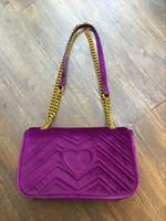 Wholesale Cluth Bags - VELVET HANDBAGS BAGS SHOULDER BAG PURSE CLUTH CHAIN BAG