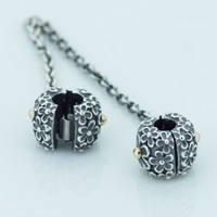 sports bouquet - 2016 BOUQUET SAFETY CHAIN Sterling Silver Bead Fit Pandora Fashion Jewelry DIY Charm Brand