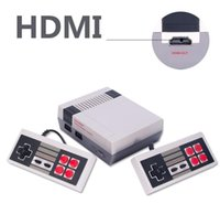 Wholesale Dual Video Game - Mini TV Handheld Game Console Video New Retro Classic Game Consoles Built-in 600 Childhood Classic Game Dual Control DHL Free
